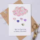 Personalised Liberty Baby Shower Invitation