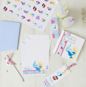 Personalised Mermaid Stationery Bundle