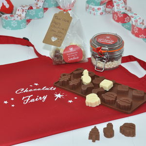 Personalised Christmas Chocolates Making Kit