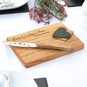 Personalised Cheese / Chopping / Antipasti Board