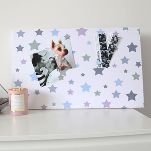 Muted Stars Magnetic Noticeboard