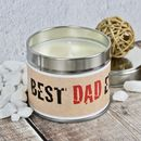 Best Dad Ever Handmade Candle