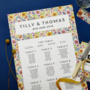Bright Flowers Wedding Stationery Sample Pack