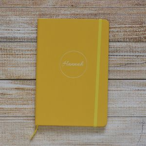 Personalised Delicate Cursive Style Notebook - whats new