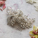 Clarice Freshwater Pearl Hair Comb