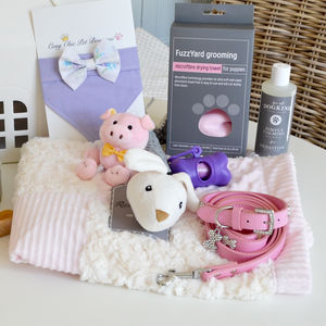 'Welcome Home' New Puppy Hamper - view all new