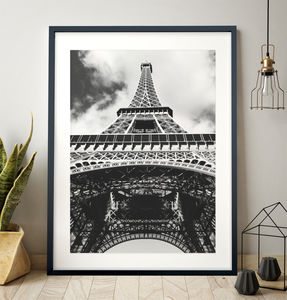 Eiffel Tower Print - shop by subject