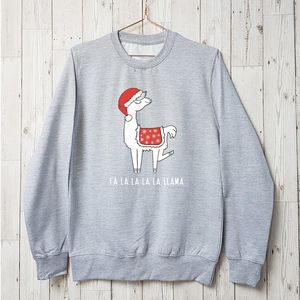 Falalallama Llama Family Christmas Jumper - christmas jumpers