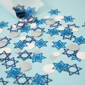 Hanukkah Star Of David Table Confetti