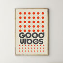 Good Vibes Dot Print