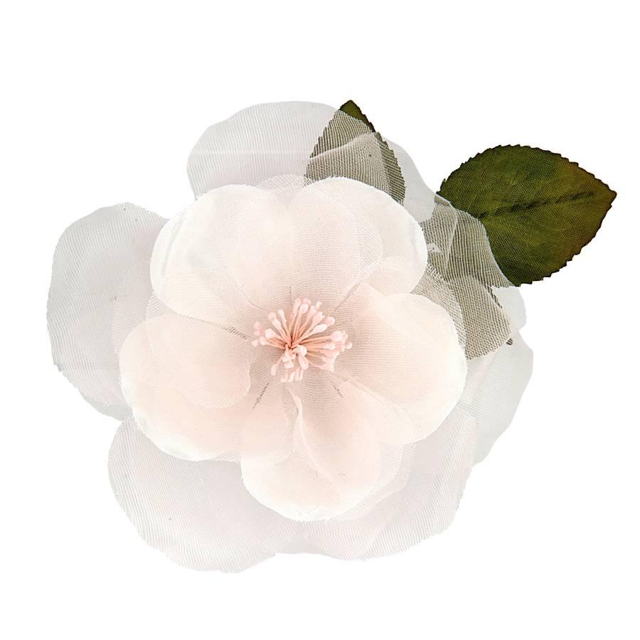 Frances silk hair flower by chez bec notonthehighstreet frances silk hair flower mightylinksfo