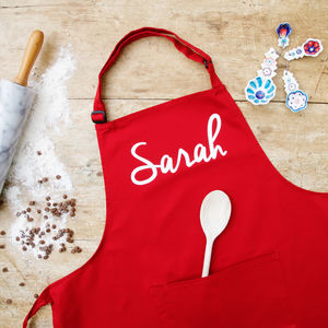 Personalised Adult's Apron - baking