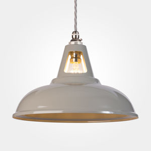 Coolicon Industrial Pendant Light Powder Coated