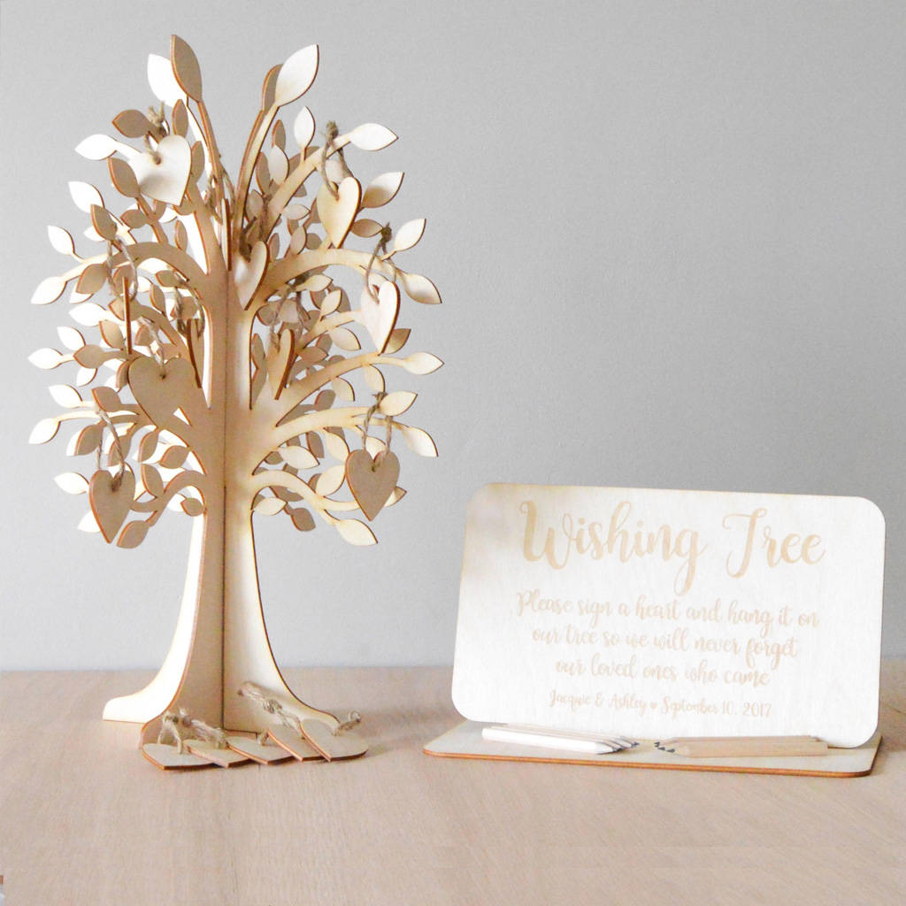 Wedding Wishing Tree By The Green Dovecote