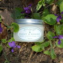 Violet And Rosehip Organic Replenishing Cream