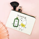 'You Complete Me' Gin And Tonic Make Up Bag