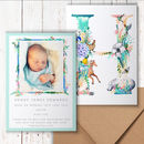 New Baby Letter Thankyou Cards