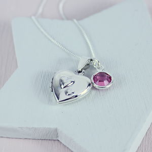 Sterling Silver Double Heart Locket - view all sale items