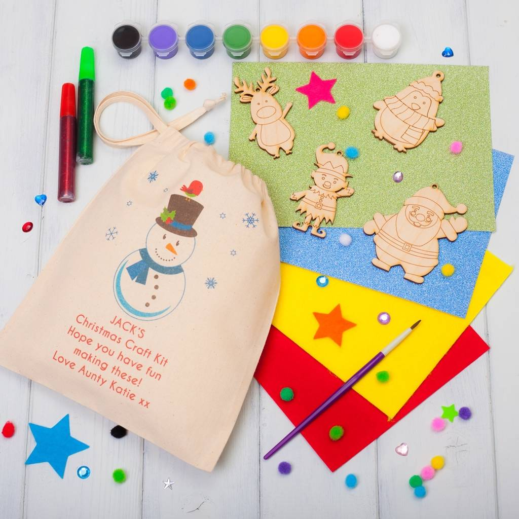Decorating Ideas > Personalised Christmas Decorations Craft Kit By British  ~ 074301_Christmas Decoration Craft Kits