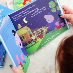 Personalised Peppa Pig 'Big Adventure' Book - sale