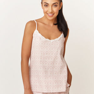 Layla Print Cotton Cami Top - lingerie & nightwear
