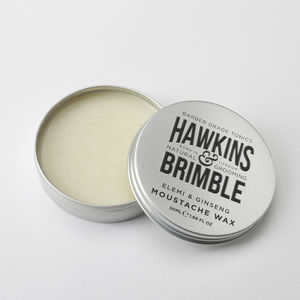 Natural Moustache Wax - hair care