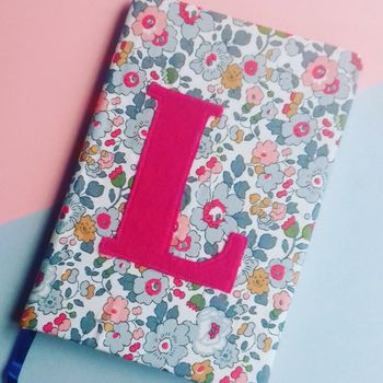 Personalised Initial Liberty Diary 2018