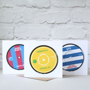Football Anthems Card - retirement cards