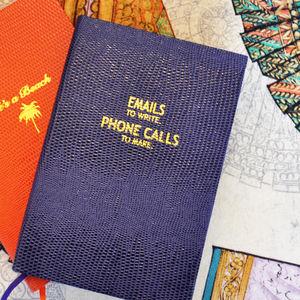Emails And Phone Calls Pocket Notebook - notebooks & journals