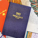 Emails And Phone Calls Pocket Notebook