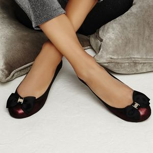 Buckingham Leather Ballerinas - women's fashion