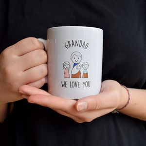 Personalised Grandad's Father's Day Mug - gifts for grandfathers