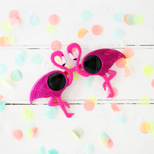Tropical Party Flamingo Sunglasses