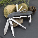 Engraved Multi Tool Pocket Penknife With 11 Accessories