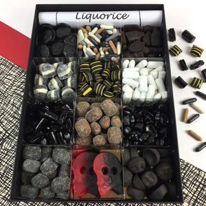 Liquorice Lovers Large Tasting Gift Box - chocolates & confectionery