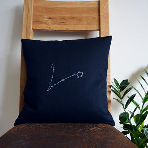 Zodiac Constellation Cushion Cover - bedroom