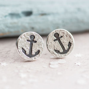 Anchor Earrings - earrings