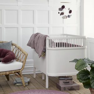 Classic White Baby And Junior Bed - nature's nursery