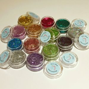 Pressed Eye Glitter Gel Pots