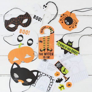 Halloween Trick Or Treat Activity Party Kit - decoration