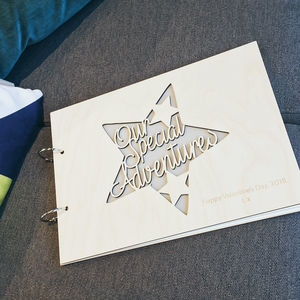 Personalised 'Special Adventures' Memory Book