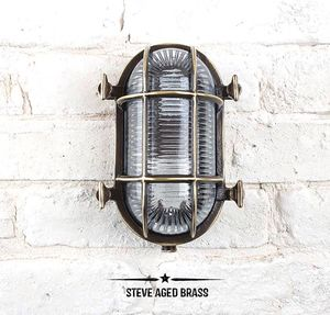Steve Bulkhead Light For Indoors Or Outdoors - lights & lanterns