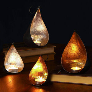 Hanging Teardrop Candle Holders