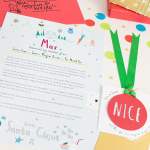 Personalised Letter From Santa - cards