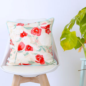Screen Printed Stephanie Cushion - decorative accessories