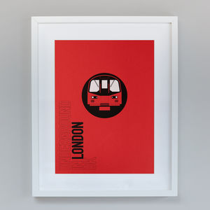 Destination London | Hand Screen Print - posters & prints