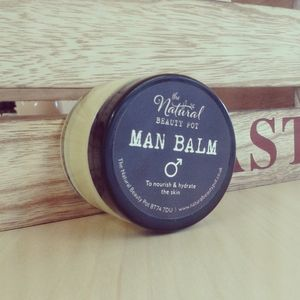 Man Balm For Sensitive Skin, Suitable For Vegans