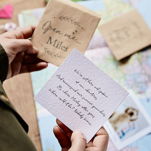 Story Of Us Personalised Treasure Hunt - gifts for her