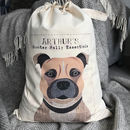 Personalised Dog Bag/Sack 65 Designs