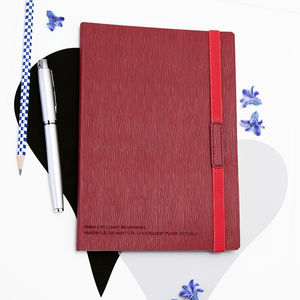 Personalised Secret Message Notebook